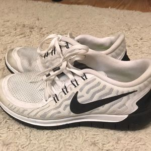 Nike Shoes - White Nike's